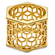Hex Cigar Band - ReRe Corcoran Jewelry