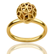 Defi Hex Ball Ring - ReRe Corcoran Jewelry
