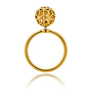 Defi Ball Ring - ReRe Corcoran Jewelry