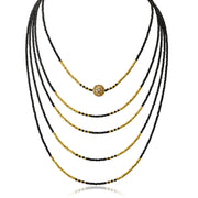 The Code 5-Strand Necklace - ReRe Corcoran Jewelry