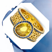 Yellow Sapphire Ring - ReRe Corcoran Jewelry