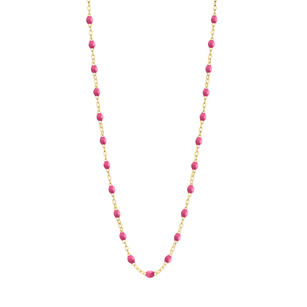 Classic GiGi Candy necklace, yellow gold, 16.5""