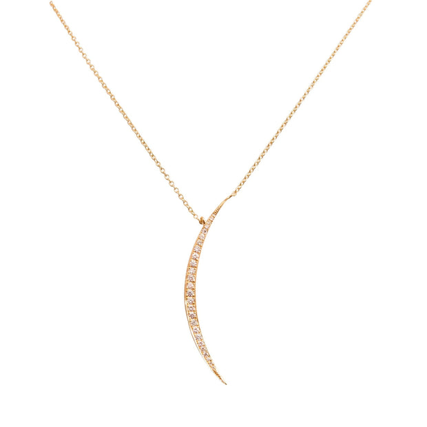 RICCIARDI  MOON NECKLACE