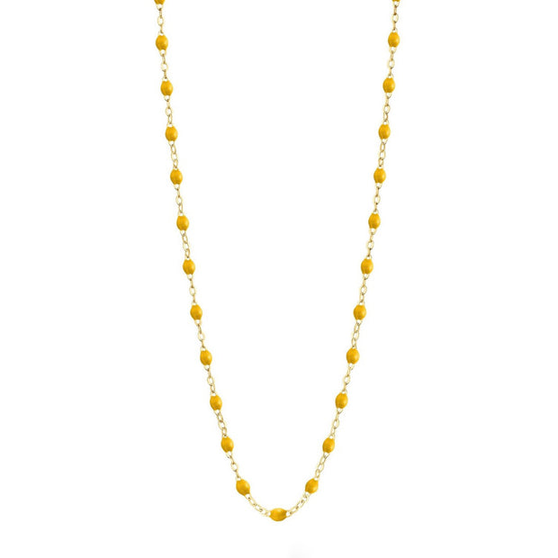 Classic GiGi Yellow necklace, yellow gold, 16.5""