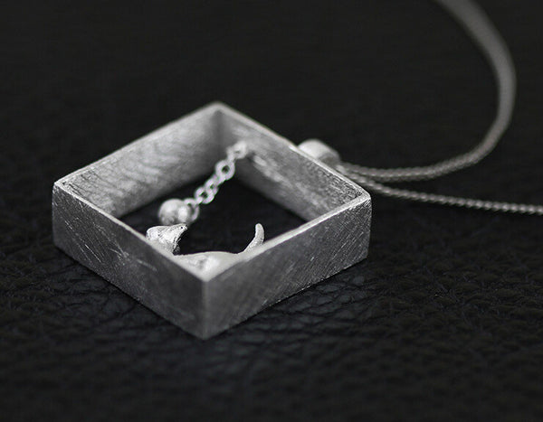 3D Cat Necklace - Rapture360.com
