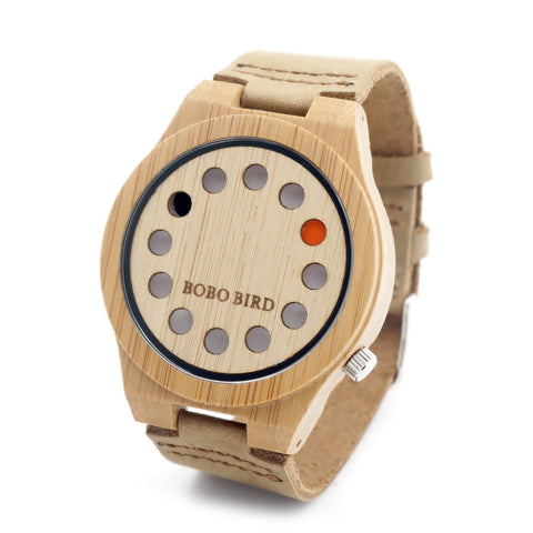 12 Holes Bobo Bird - Wooden Watch - Rapture360.com