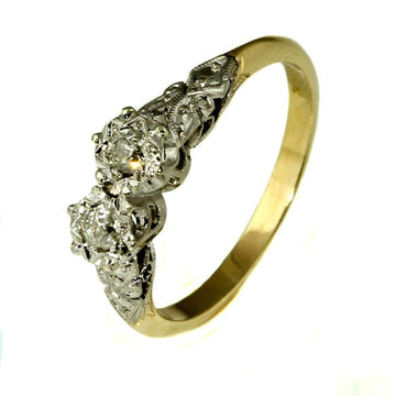 Antique Diamond Engagement Ring - What Women Want Jewellers