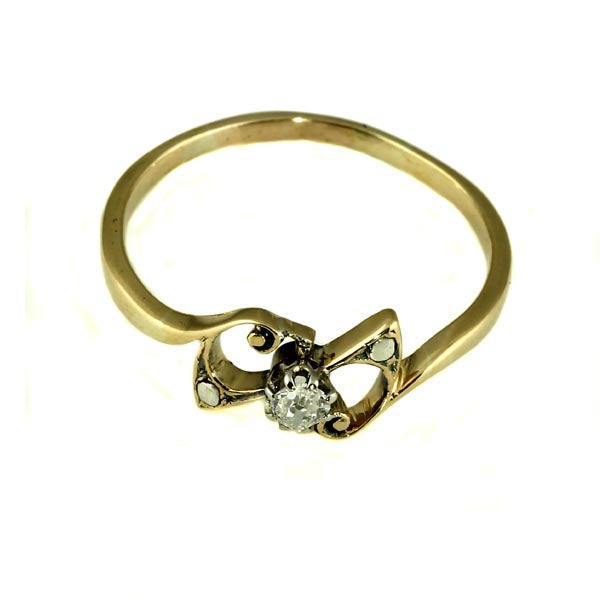 Danty Diamond Gold Ring - What Women Want Jewellers