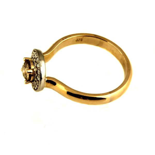 Australian Cognac Chocolate Diamond Ring - What Women Want Jewellers