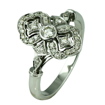 Oval Art Deco Diamond Ring - What Women Want Jewellers