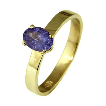 Lilac Tanzanite Gold Ring - What Women Want Jewellers