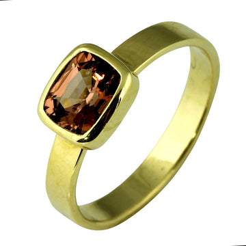 Natural Pink Spinel Gold Ring - What Women Want Jewellers