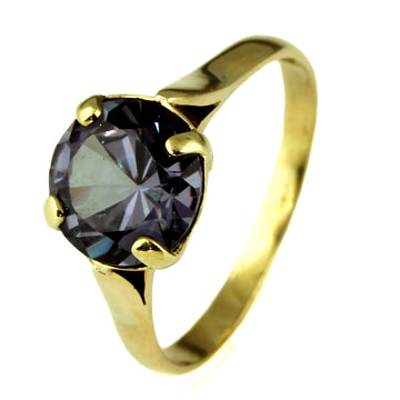 Large Alexandrite Gold Ring - What Women Want Jewellers