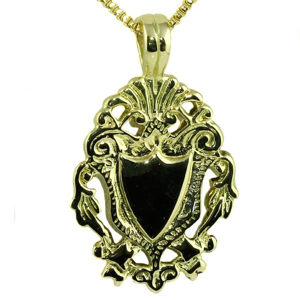 Family Crest Shield Pendant - What Women Want Jewellers