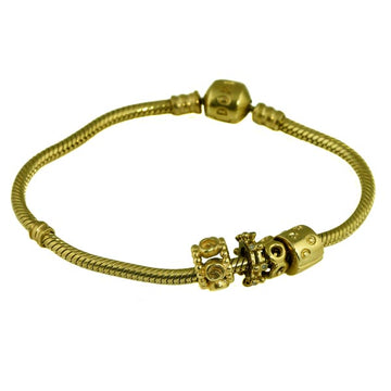Gold Pandora Bracelet - What Women Want Jewellers