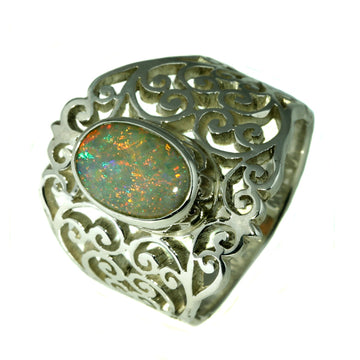 Australian Solid White Opal, Austalian Opal, What Women Want Jewellers