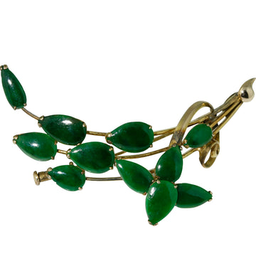 New Zealand Greenstone Brooch - What Women Want Jewellers