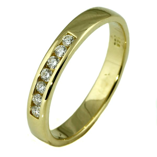 Gold and Diamond Wedding Ring - What Women Want Jewellers