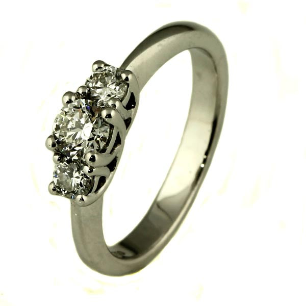 Trilogy Diamond White Gold Ring - What Women Want Jewellers