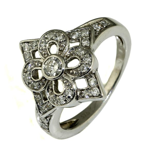 Diamond Flower Cluster Ring - What Women Want Jewellers