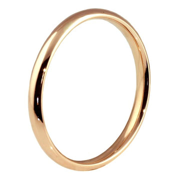 Round Rose Gold Bangle - What Women Want Jewellers