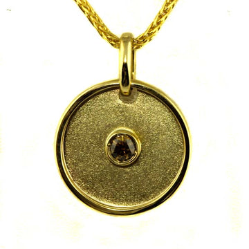 Australian Chocolate Cognac Diamond Pendant - What Women Want Jewellers
