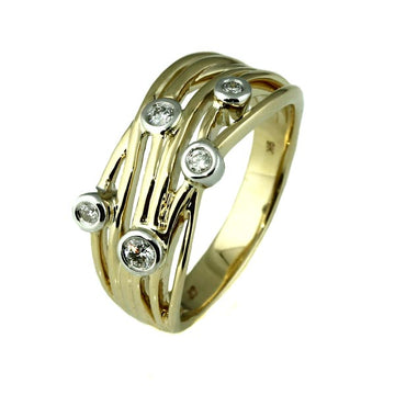 Contemporary Diamond Ring - What Women Want Jewellers