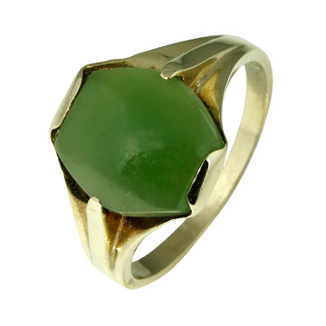 Vintage Jade Gold Ring - What Women Want Jewellers