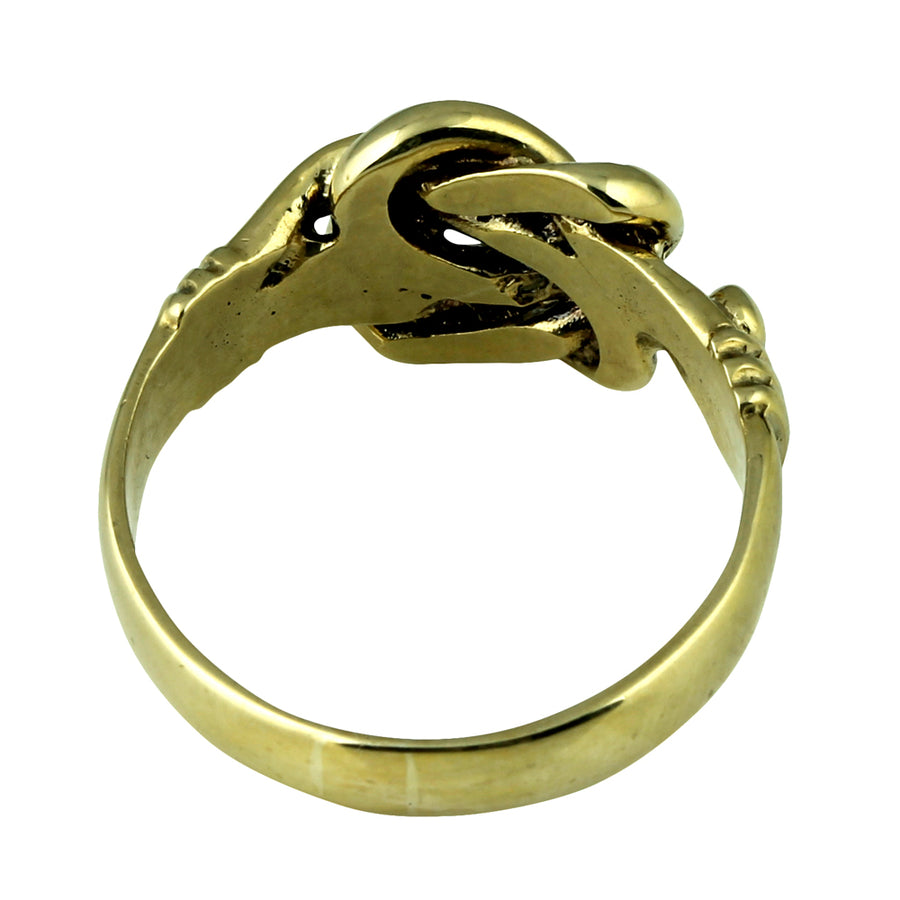 Solid Gold Knot Ring
