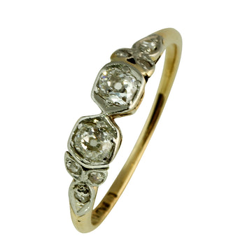 Antique Double Diamond Ring - What Women Want Jewellers