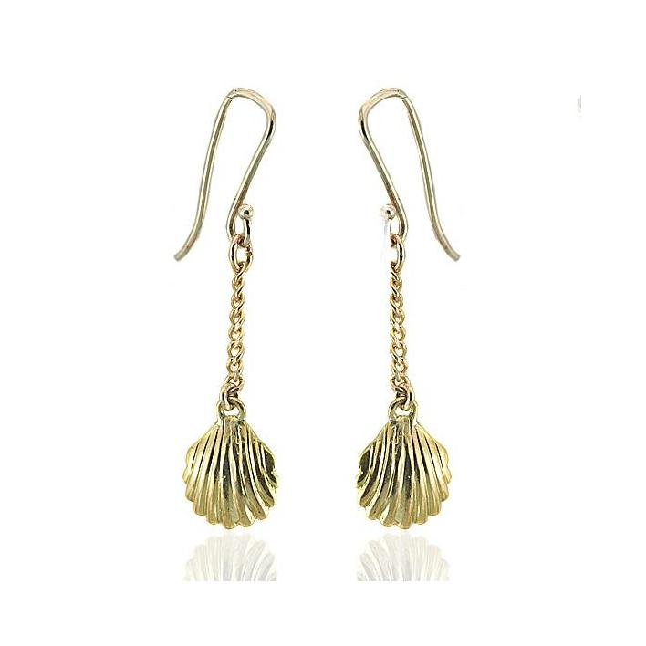 Cultured pearl gold earrings - What Women Want Jewellers