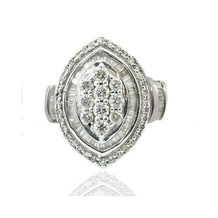 Diamond white gold ring - What Women Want Jewellers