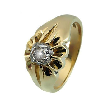Hallmarked English Diamond Men's Ring - What Women Want Jewellers