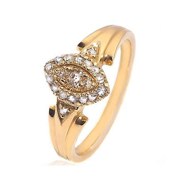 Old cut diamond gold engagement ring - What Women Want Jewellers