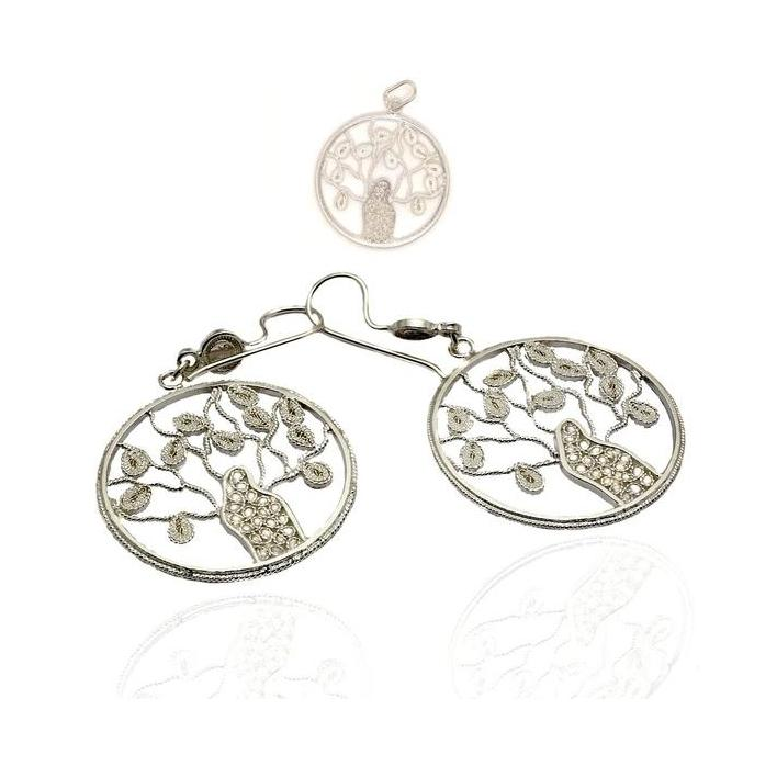 Tree of life silver earrings - What Women Want Jewellers