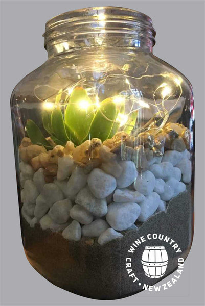 *HIRE* Large Jars with Seed lights