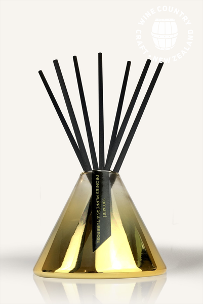 Lime, Coconut & Verbena - Gold Series Reed Diffuser