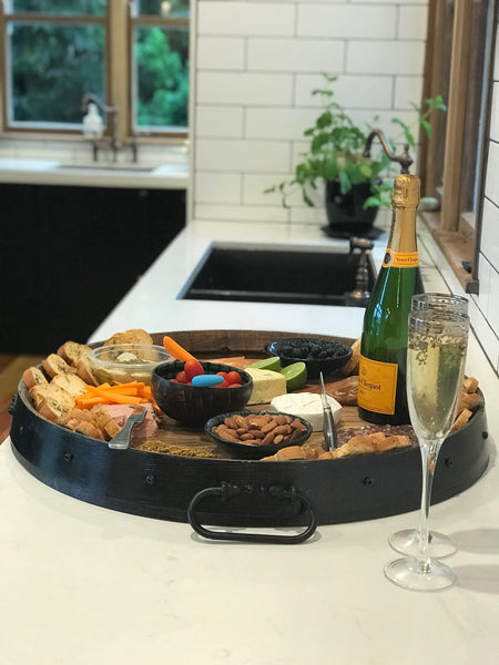 *Hire* 'Pinot' Wine Barrel Platter