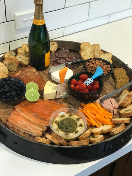'Pinot' Wine Barrel Platter