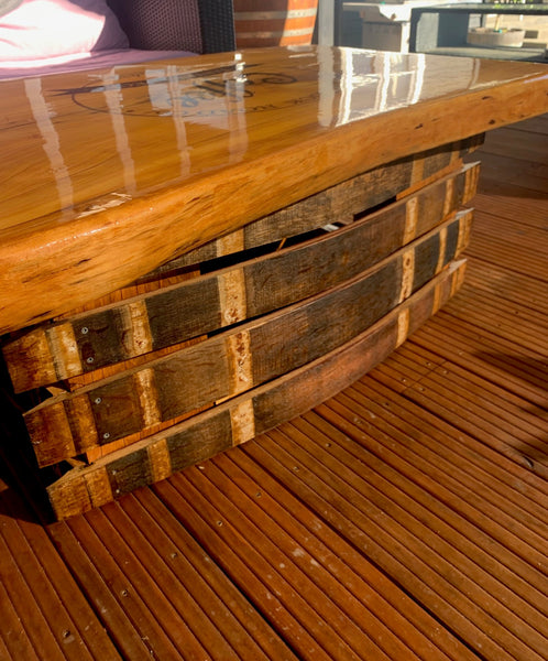 Stave and Slab Coffee table