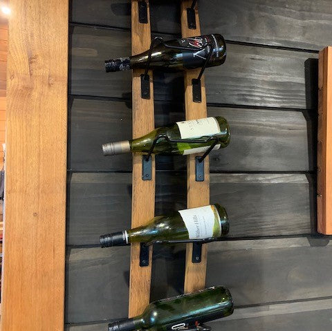 Stave Wall Mounted Wine Rack