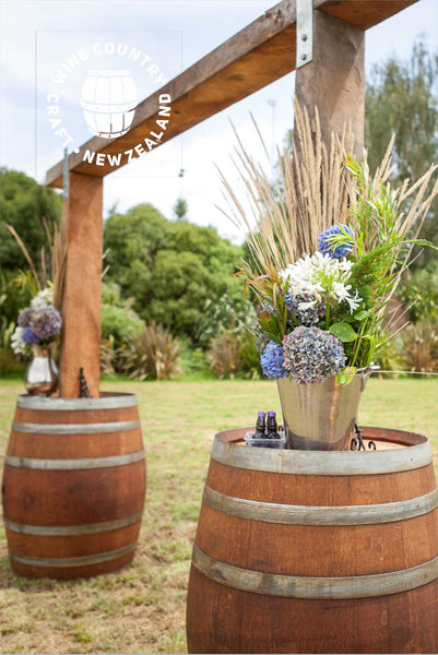 *HIRE* Rustic Wine Barrel Arch