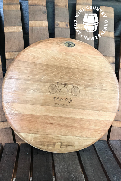 'Champagne' Wine Barrel Cheeseboard