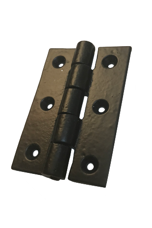 Cast Iron Black Hinge - Matt Black