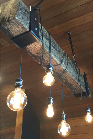 Industrial Sleeper Pendant light