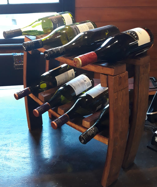 Stave Wine Bottle Rack