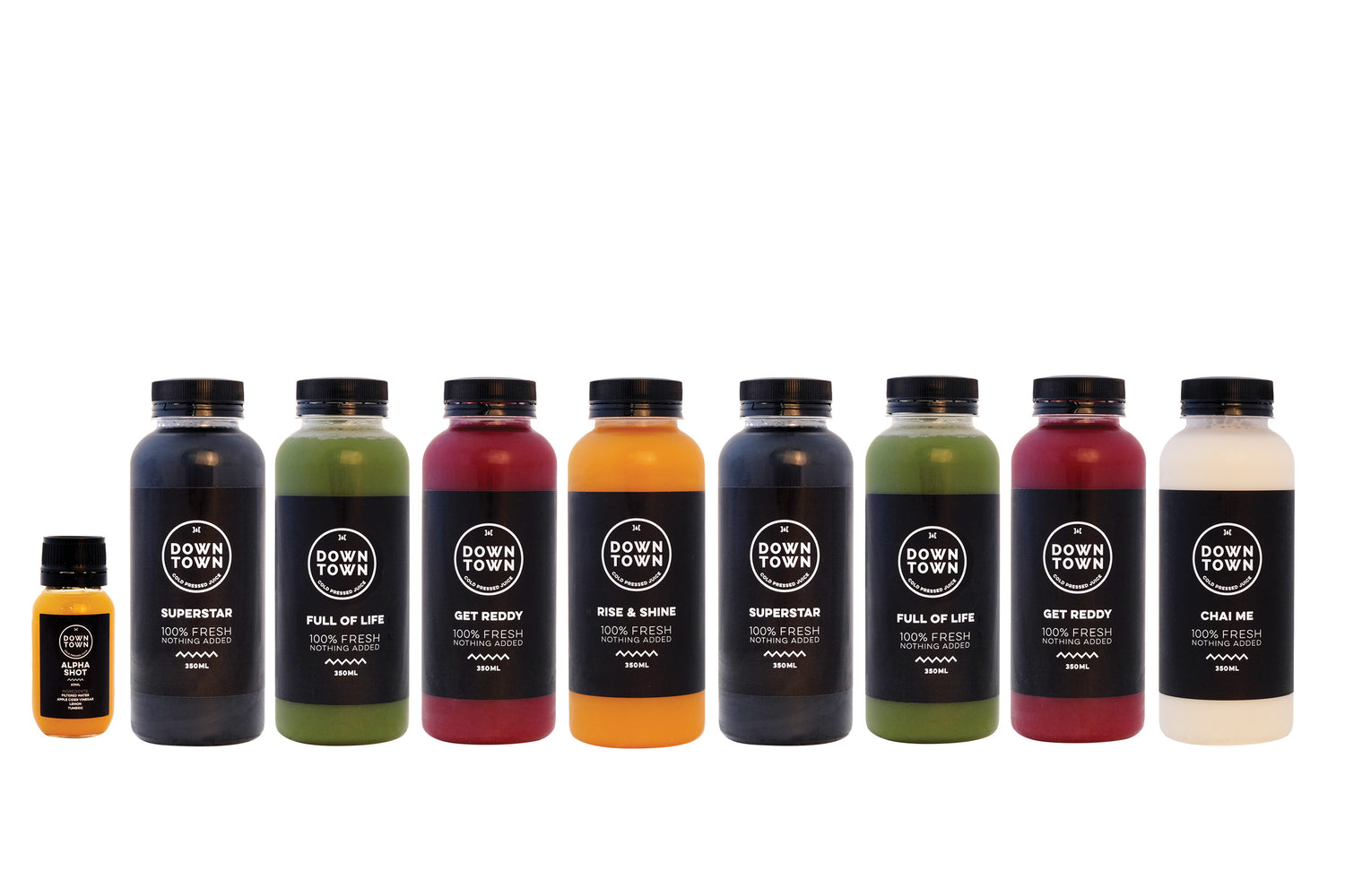 Deep detox juice cleanse pack