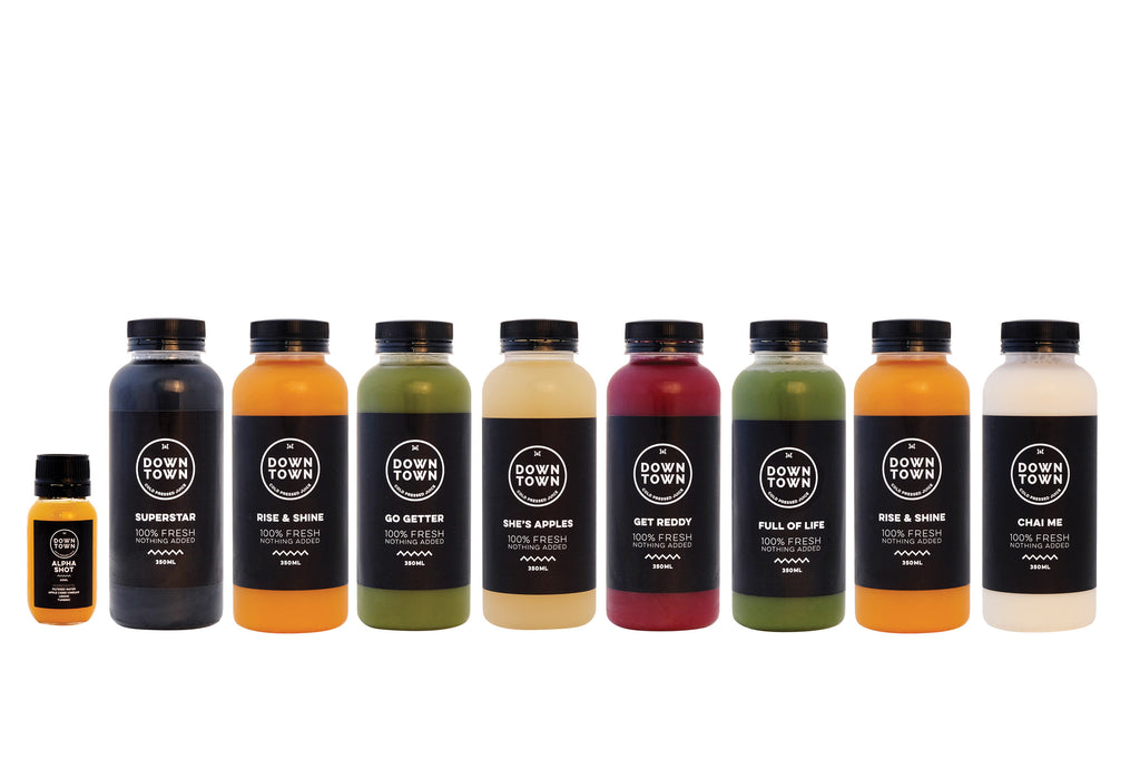 Healthy gut juice cleanse pack