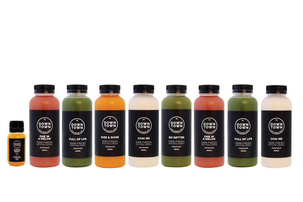Skin detox juice cleanse pack