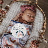 Muslin Swaddle - Rainbow